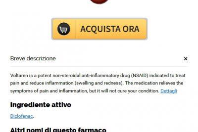 Pillole Di Voltaren Generico A Buon Mercato * FDA ha approvato Online Pharmacy