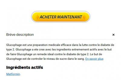 Acheter Et économiser de l'argent. Glucophage Online France. La Morue Livraison