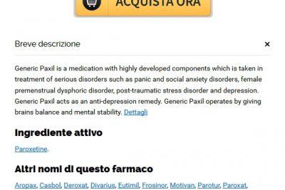 Farmacia Online Senza Prescrizione Paxil | Paroxetine senza rx